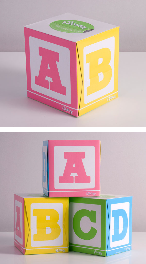 Kleenex Kids Collection ABC