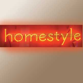 """neon sign -homestyle 30"""" x 8"""""""