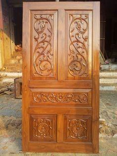 Carved Teak Doors, Teak Wood Door, Teak Wood