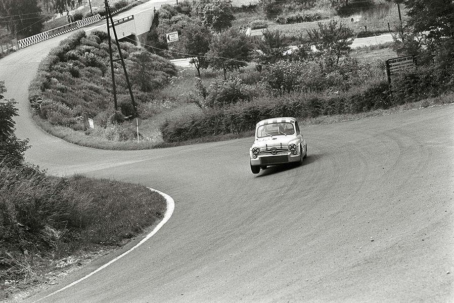 1969, Abarth 600, Stunden-Rennen Nürburgring-Photo by Ferdi KRÄLING