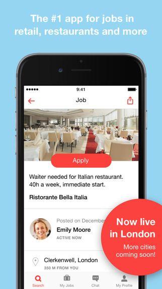 JOB TODAY u2013 London Job Search by JobToday SA APPOOL, Necessity - best job search apps