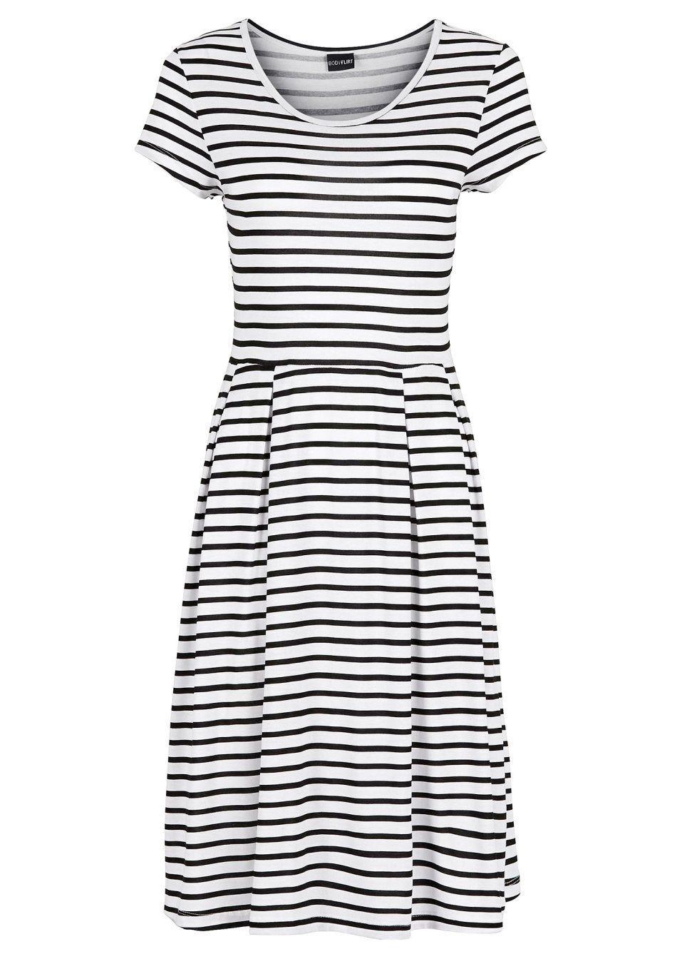Úpletové šaty V módním vzoru puntíků • 549.0 Kč • bonprix  23344faa50