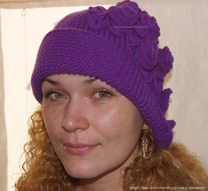 Knit Hat + Free Pattern Step By Step