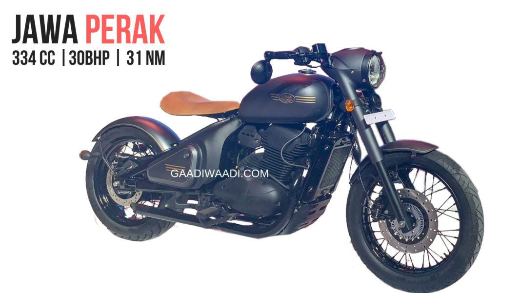 Jawa Perak Will Become The Most Affordable Bobber In India Upon