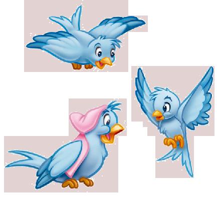 Disney Cartoon Blue Bird Cinderella Google Search