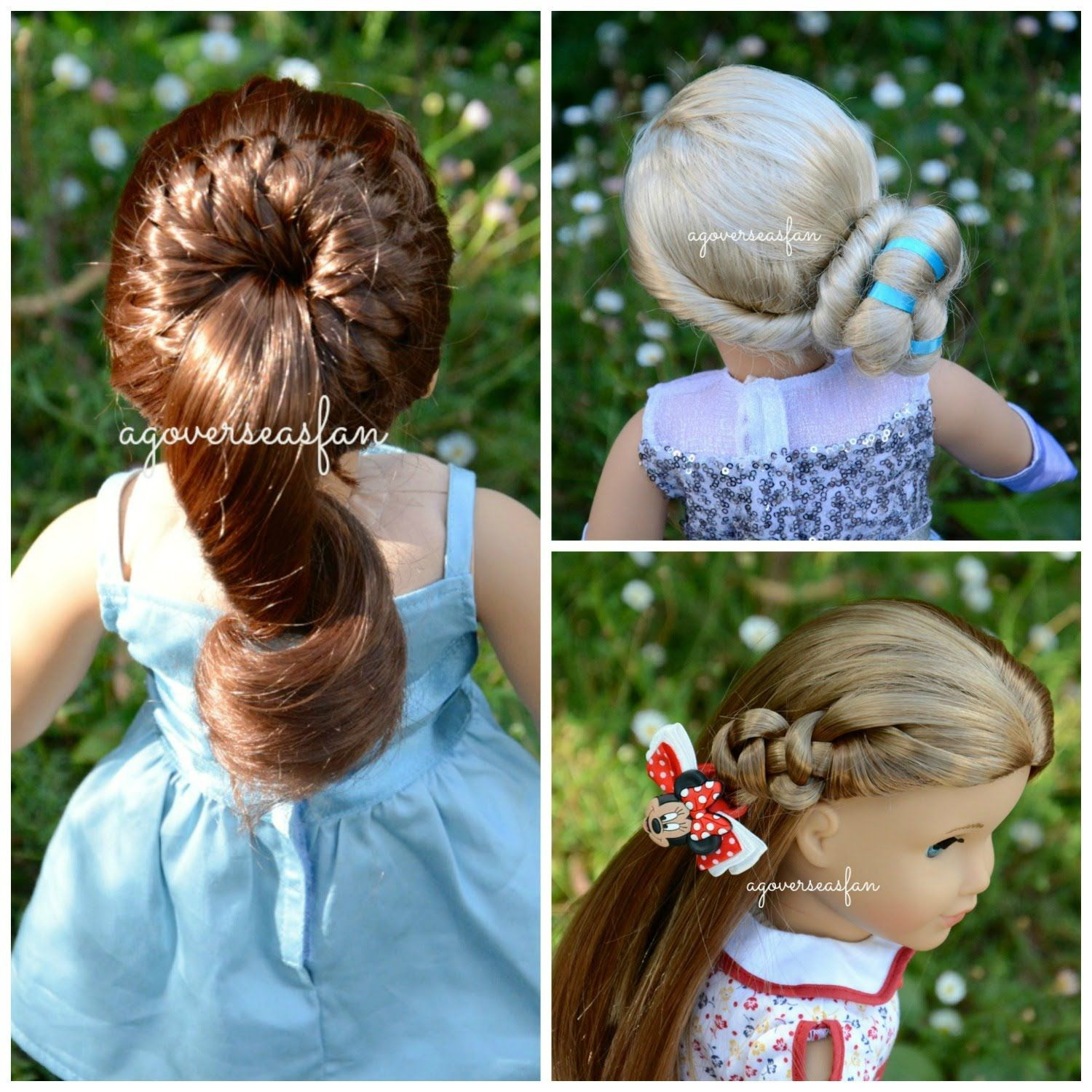 New american girl doll hairstyles disney frozen elsa inspired by