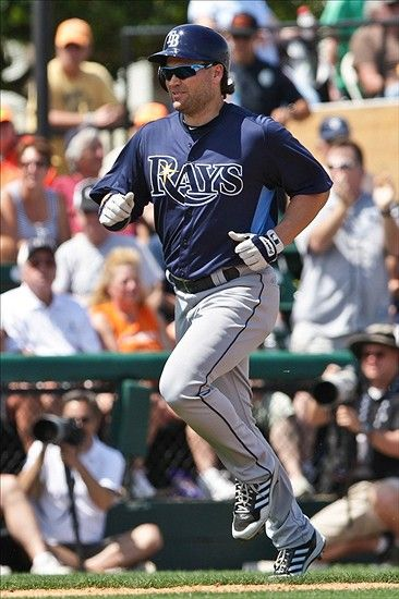 Could Luke Scott See Time In The Outfield For The Rays The Outfield Luke Tampa Bay Rays