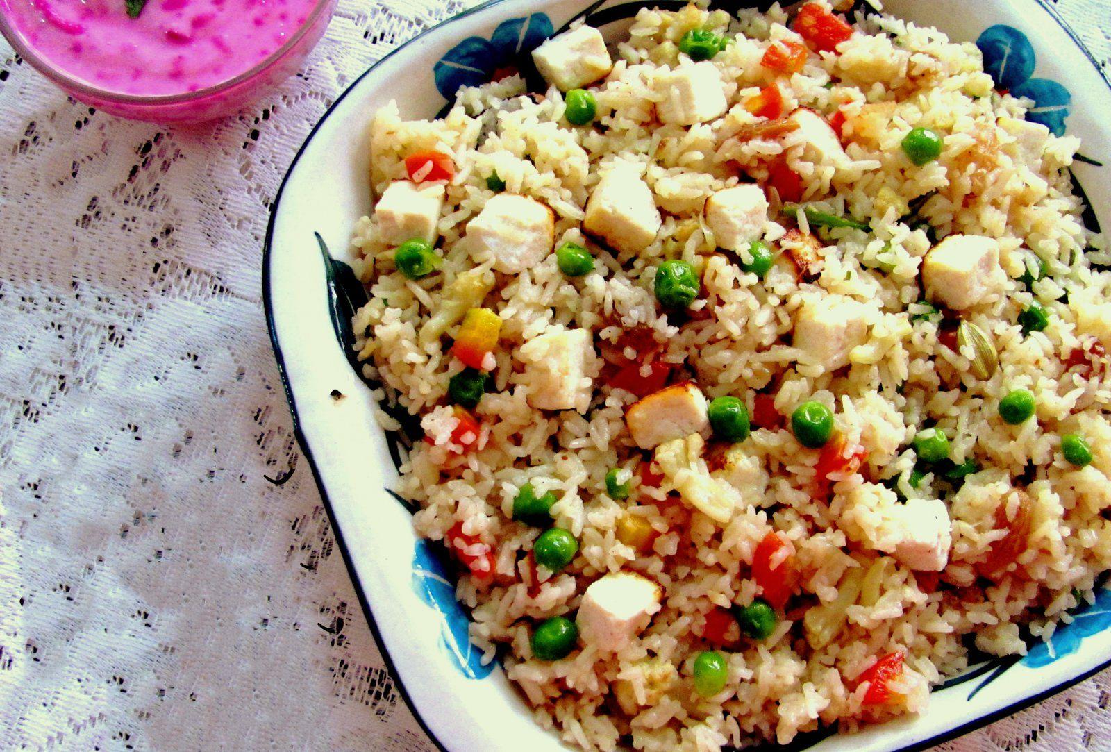 Bengali Style Mixed Vegetable Sweet Pilaf Recipe Food