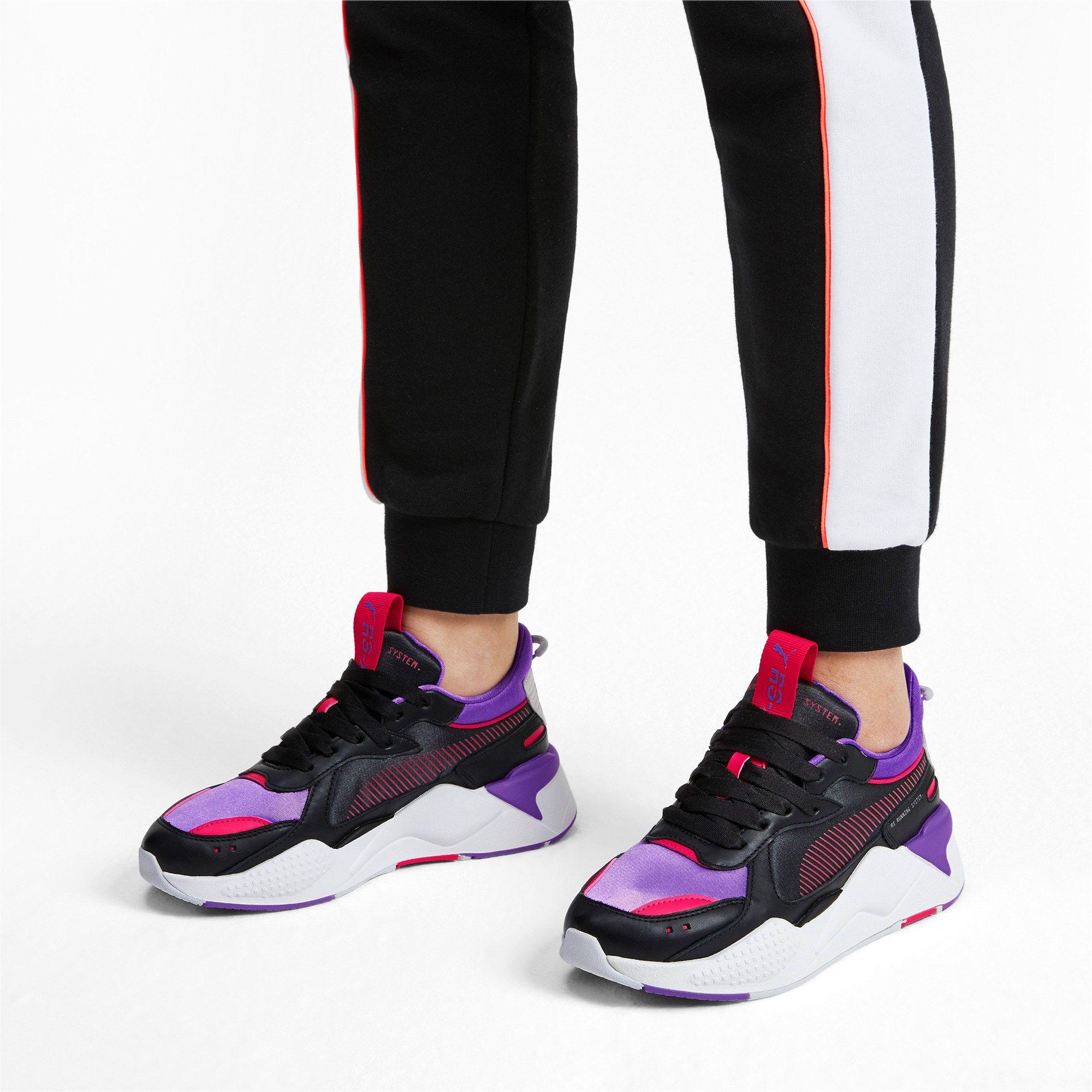 basket femme puma violet