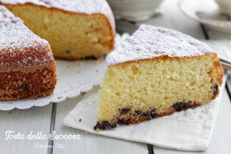 La Credenza Della Suocera : Torta della suocera le soffici nel torte dolci ricette e