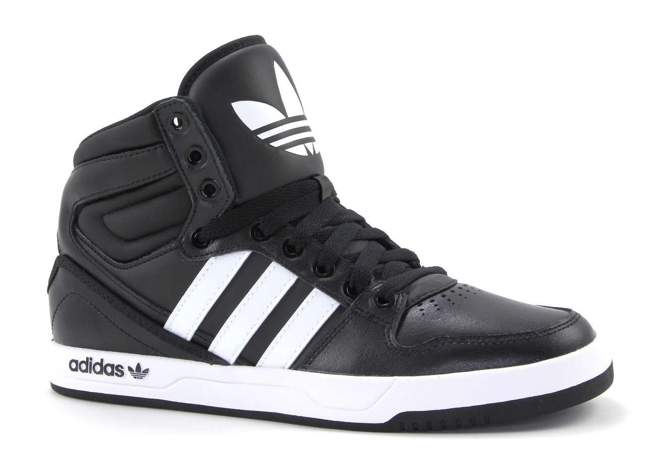adidas hoge sneakers dames zwart