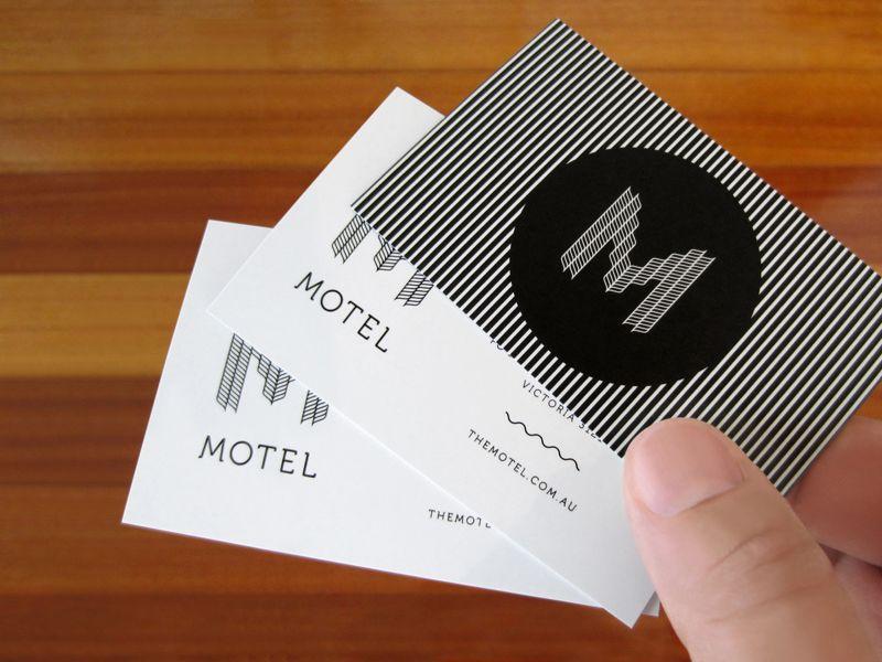 Motel Nightclub Rebrand By Creative Order Rebranding Grafik Design Artist Business