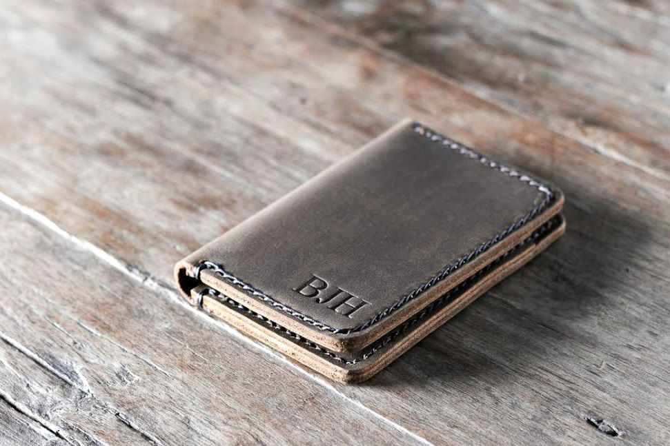 Wallet, Leather Wallet, Personalized Leather Wallet, Front Pocket ...