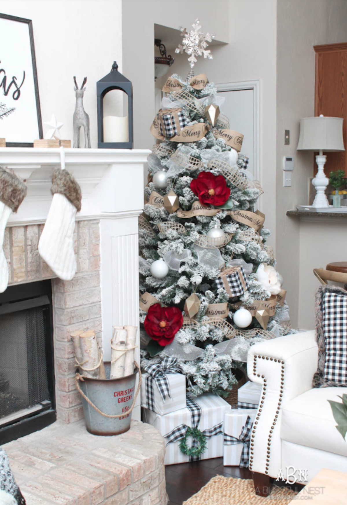 Christmas magic comes in many colors, and a few of our favorite bloggers shared their holiday homes to prove it! From bright red and green to neutral taupe and gold, we've got Christmas decor that suits your style.