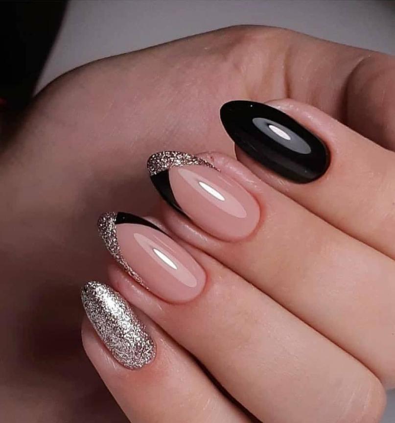 80 Pretty Natural Acrylic Oval Nails Design Ideas Oval Nails Designs Oval Nails Short Oval Nails