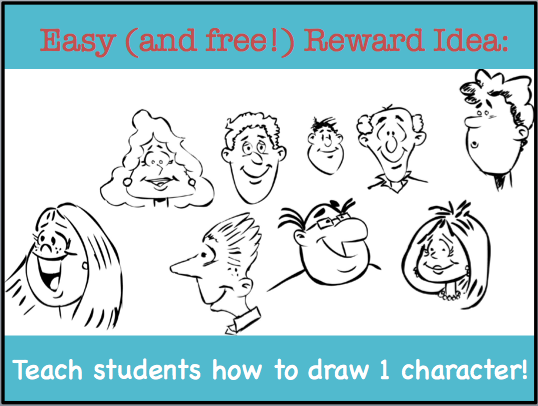 how to draw a teacher easy