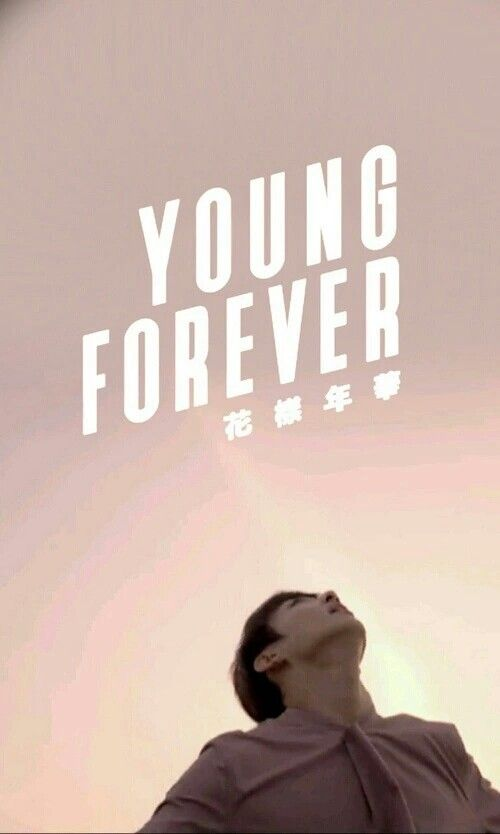 BTS - FOREVER YOUNG WALLPAPER (Jungkook)