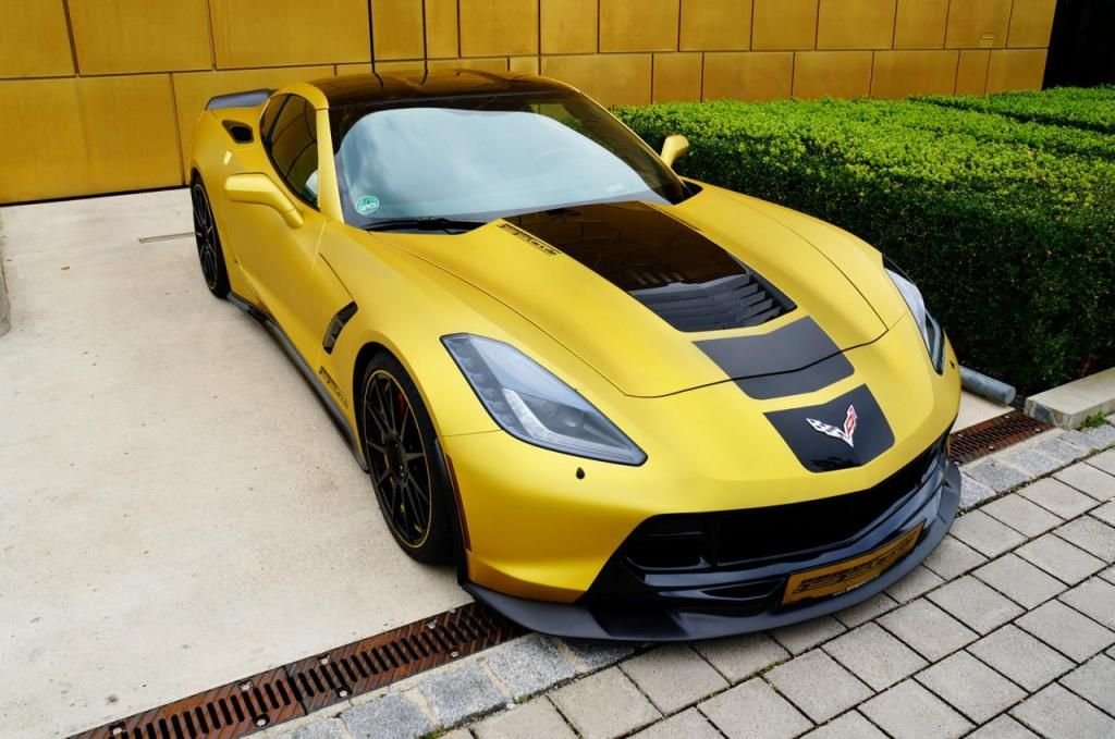Chevrolet Corvette Stingray C7 Por Geiger Cars Con 590 Cv