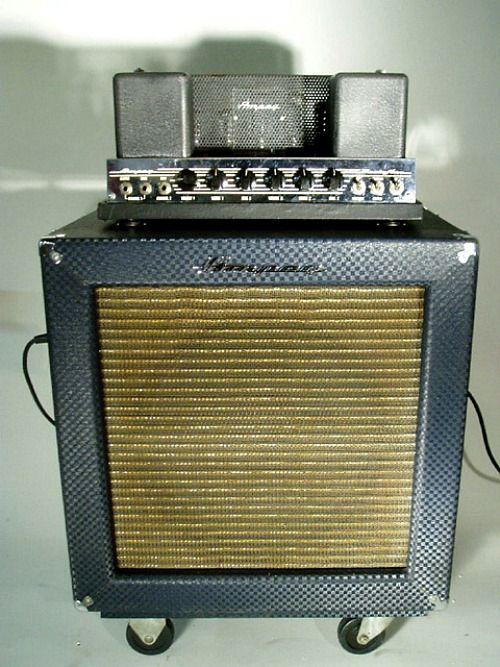 1965 ampeg b 15n flip top amplifier studio tygr 39 s den guitar amp bass amps vintage. Black Bedroom Furniture Sets. Home Design Ideas