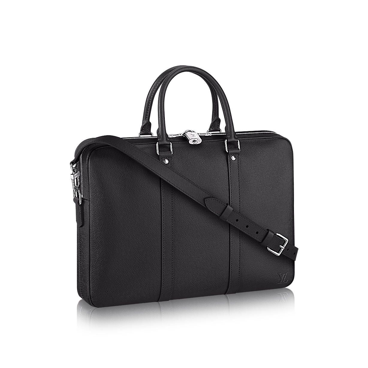 Porte-Documents Voyage PM Taiga Leather Men Men s Bags  904315bf9ade6