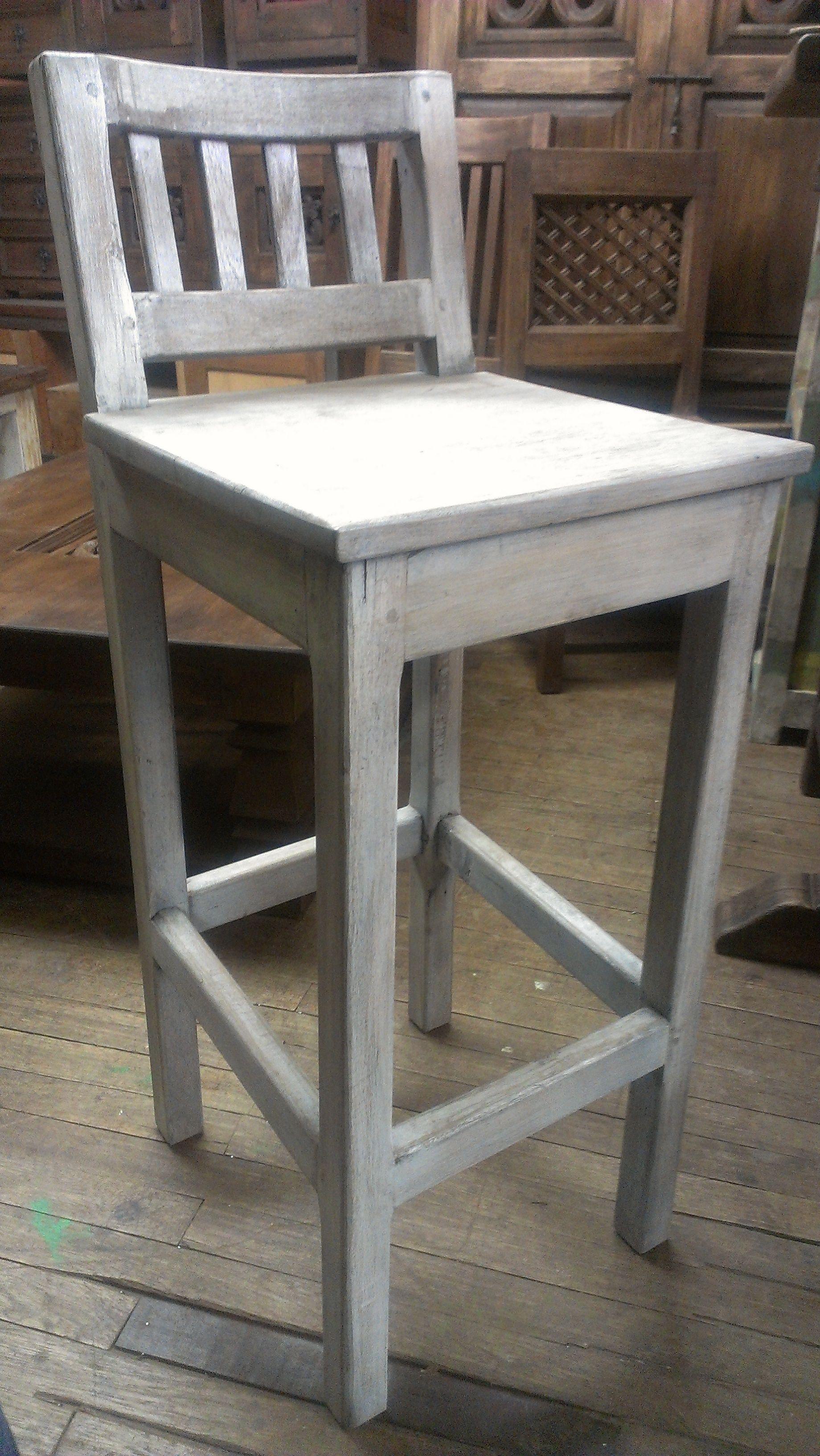 Silla alta (stool) rustica . Cualquier color. Envios en Colombia ...