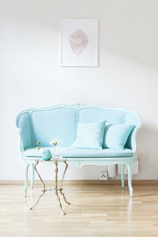 Ordinaire Baby Blue Sofa. Wish I Could Find Something Like This. It Would Be An  Awesome Photography Prop!