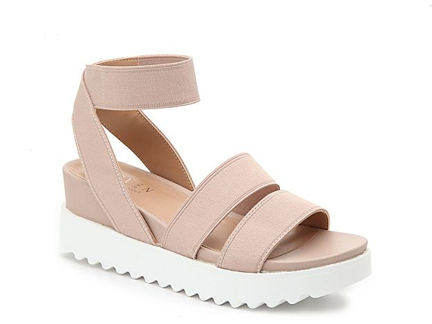 7ecb46a147c Women Kenza Wedge Sandal -Blush | Products in 2019 | Sandals, Shoes ...