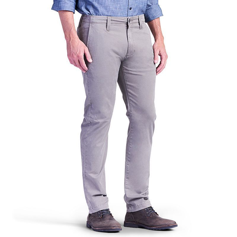 Men's Lee Modern Series Chino Slim-Fit Pants, Size: 34X34, Brown Oth