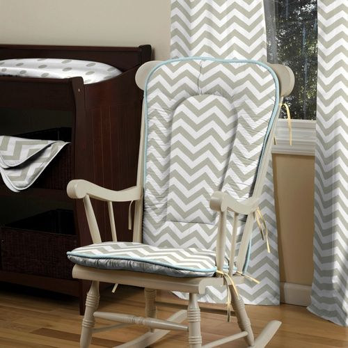 ... and Gray Deer Rocking Chair Pad  Rocking chairs, Taupe and Chairs