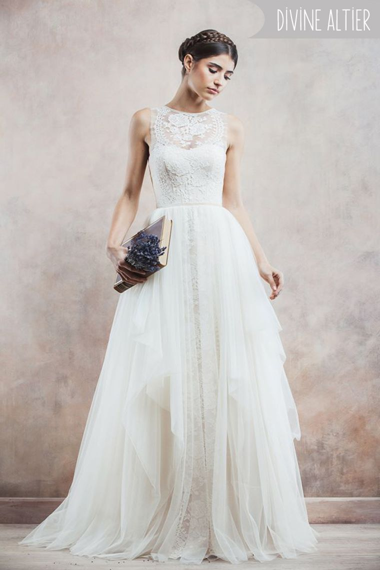 5 To-Die-For Ethereal Wedding Dresses | Tie The Knot | Pinterest ...