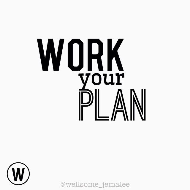⇒ Plan your work➕work your plan!  ️To achieve what we desire