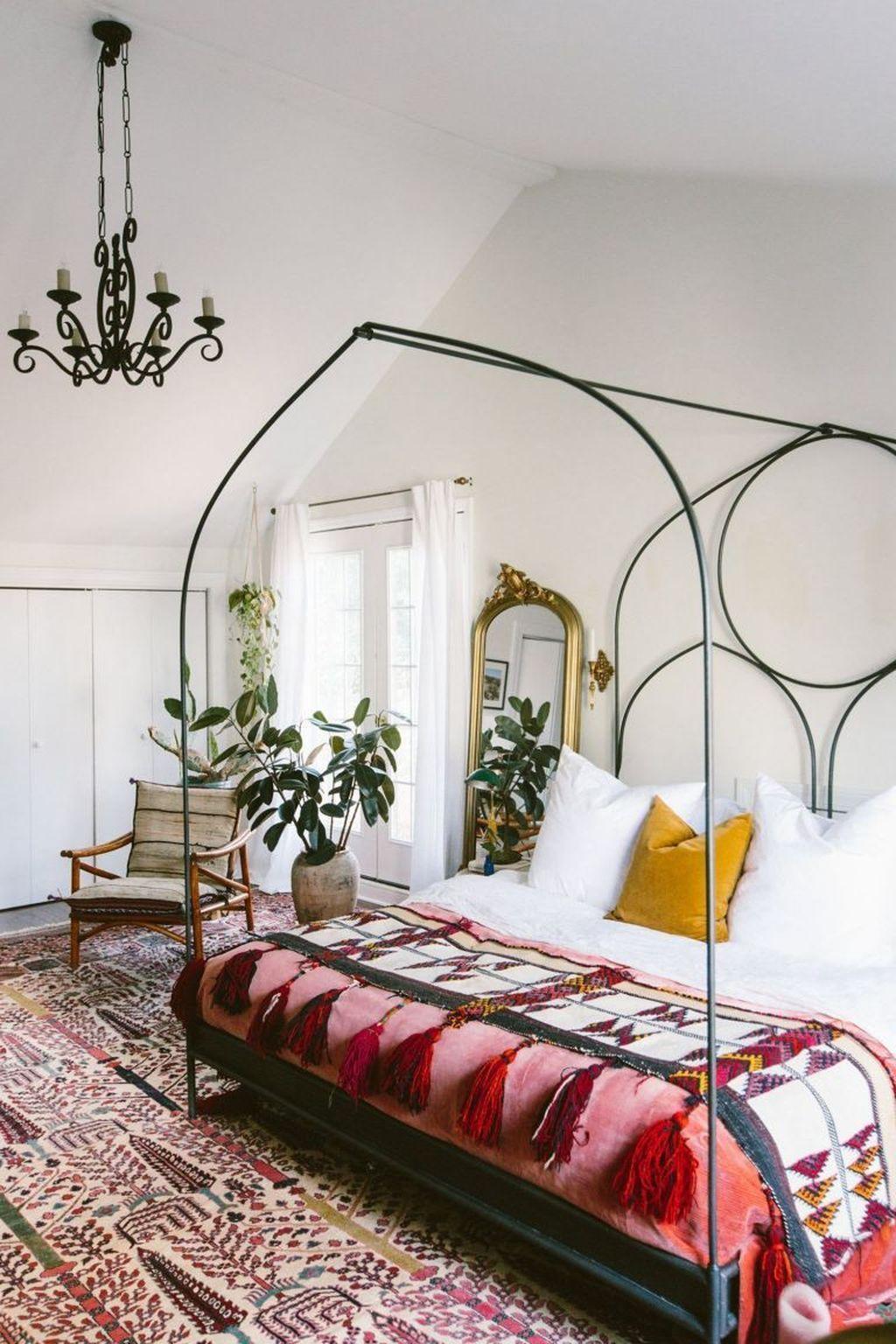 32 Gorgeous Modern Bohemian Bedroom Decor Ideas | Bedroom ... on Modern Bohemian Bedroom Decor  id=48161