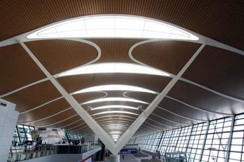 Shanghai Pudong International Airport - arriving from the furture into the past of Chinese Jazz.