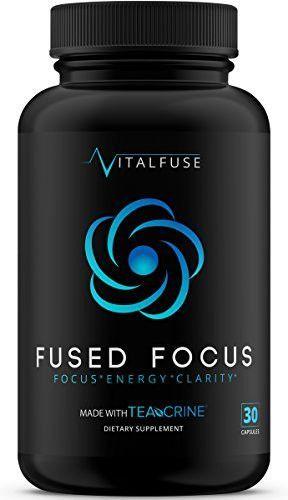 Fused Focus Premium Brain Support For Ultimate Focus Energy And