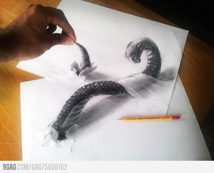 Awesome 3d drawing is awesome