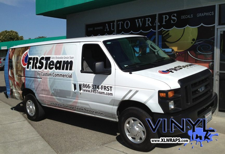 Full Graphic Wrap On Ford Econoline Van Www Vinyl Ink Com Car Wrap Vinyl Graphic