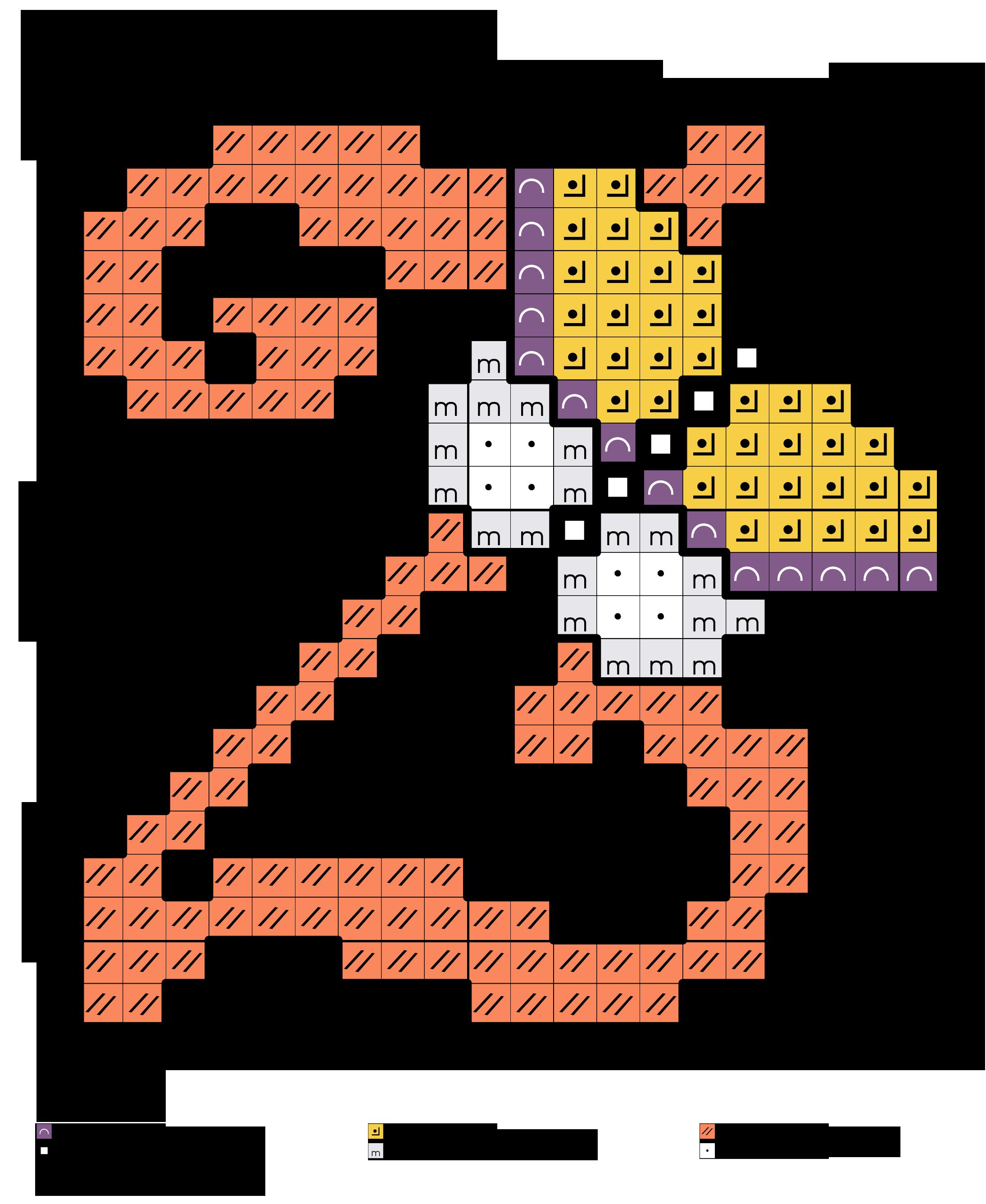 alfabeto con farfalle Z