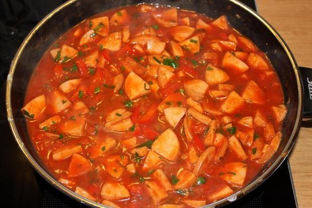 Photo of Goulash de salchicha – receta con foto