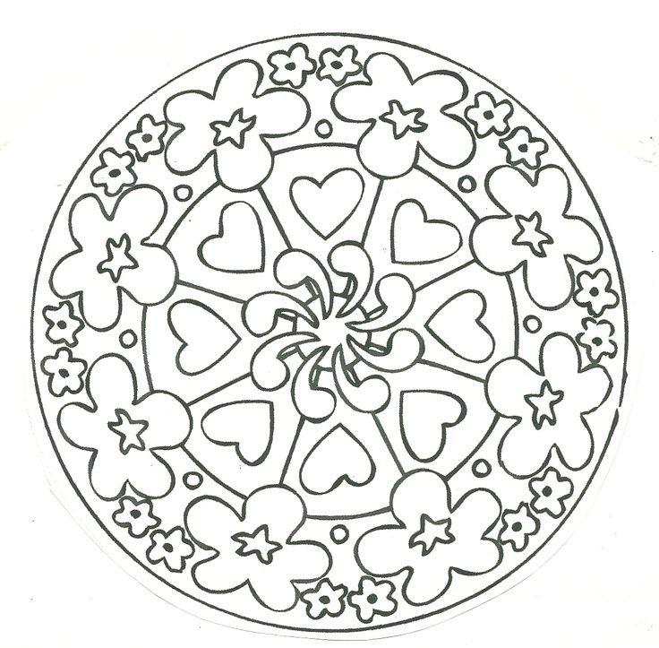 Pin By Lidia B C C On Mandalas Para Colorear Pinterest