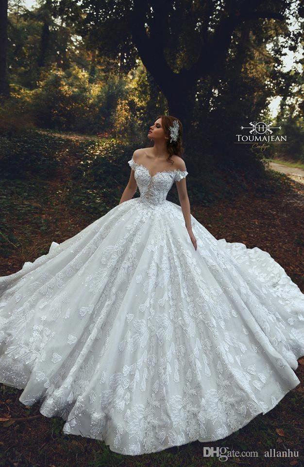 Dubai Arabic Luxury Country Style Plus Size Lace Wedding Dresses Weddingdresses Weddingdress Ball Gowns Wedding Ball Gown Wedding Dress Big Wedding Dresses