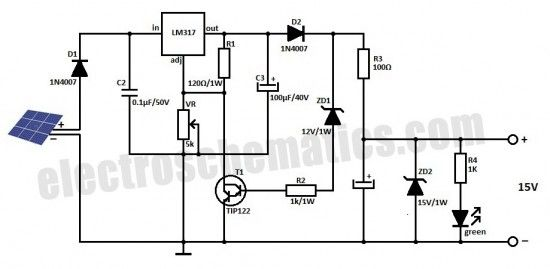solar inverter battery charger electronics \u0026 electric in 2019 18 Volt Battery Wiring Diagram