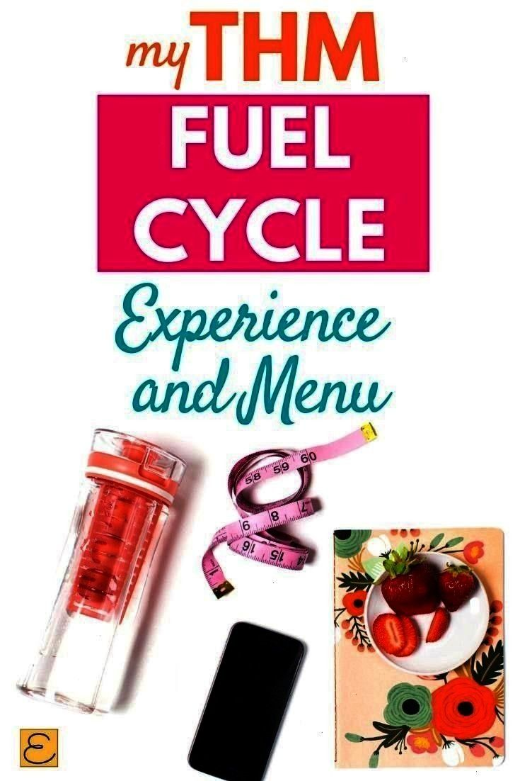 For One Week and my experience THM Fuel Cycle Menu For One Week and my experience  THM Fuel Cycle Menu For One Week and my experience Fuel Cycle Menu For One Week and my...