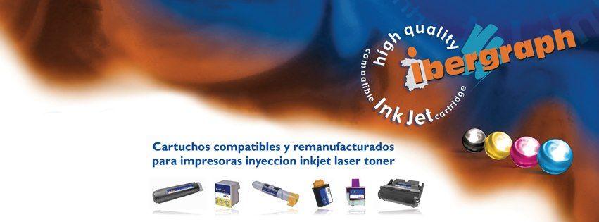 Ibergraph es una marca que comercializa consumibles de impresora.