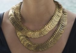Coin Chained Necklace