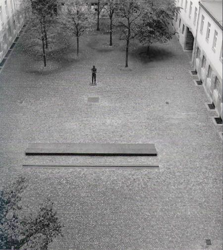 """""""The commemorative courtyard at the German Resistance Memorial Center represents the center of the Bendler Block. It is dedicated to the memory of the officers executed here on the night of July 20, 1944."""" Wide array of resistance members' biographies online."""