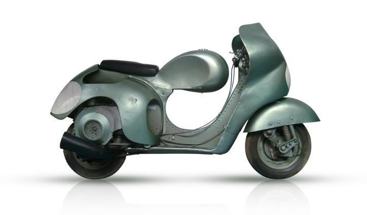 Vespa 125 Corsa alloy frame 1949
