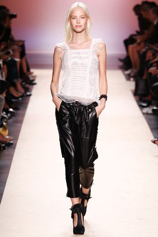 Isabel Marant Spring 2014 Ready-to-Wear Collection Slideshow on Style.com
