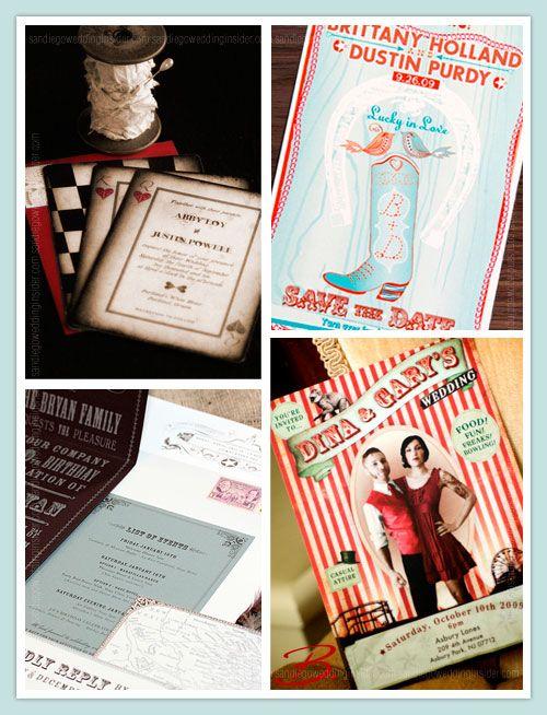 Creative Wedding Invitations Photos
