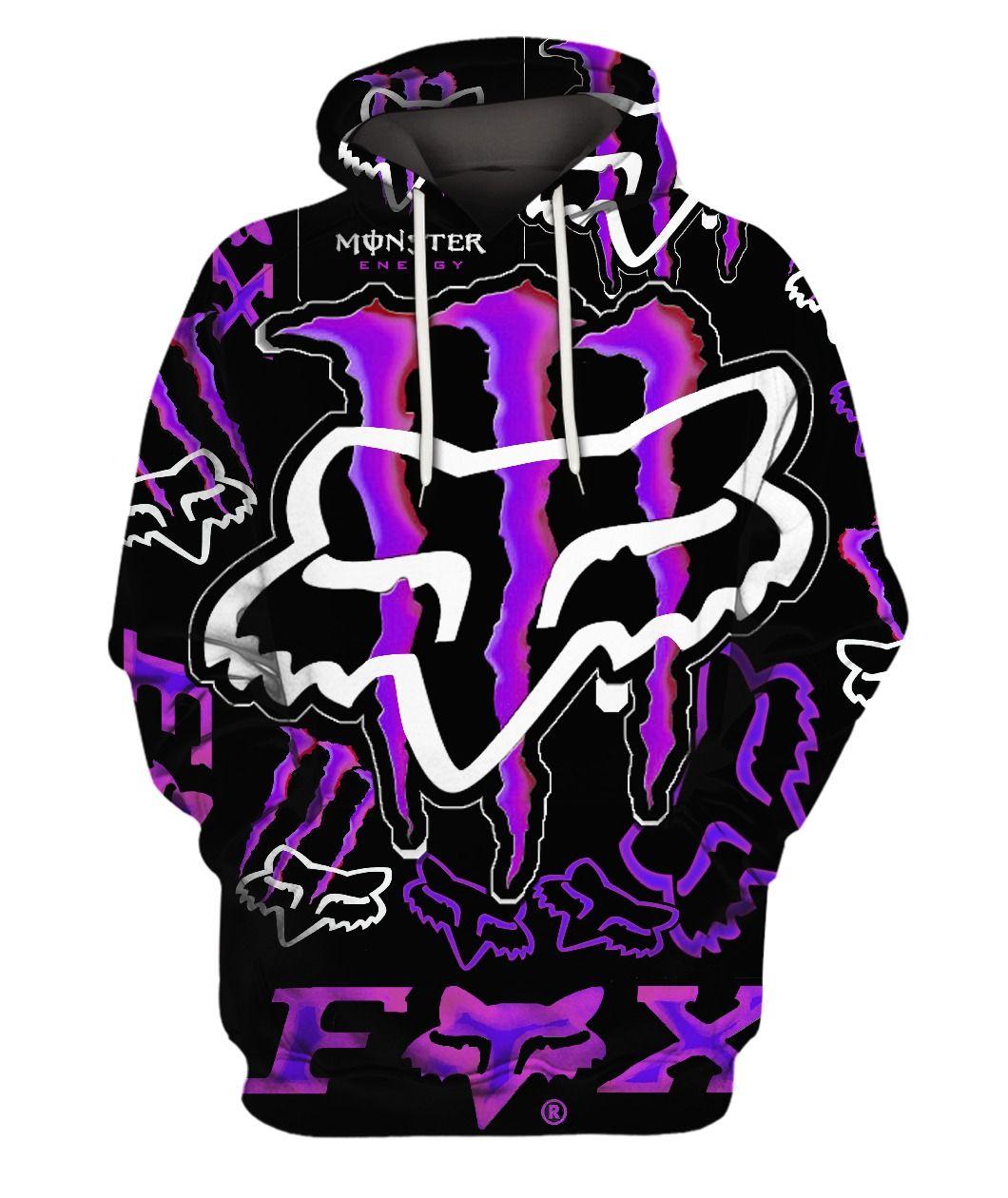Men Women Fox 3d Hoodie Fox Hoodie Fox Racing Clothing Hoodie Print Hoodies