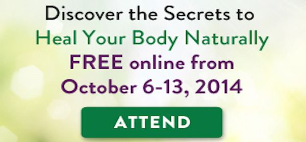The Secrets to Natural Healing FREE ONLINE SEMIAR